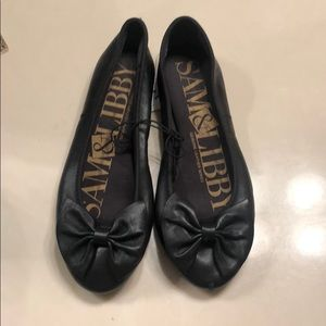 NWOT SAM & LINBY GENUINE LEATHER SERIES FLATS